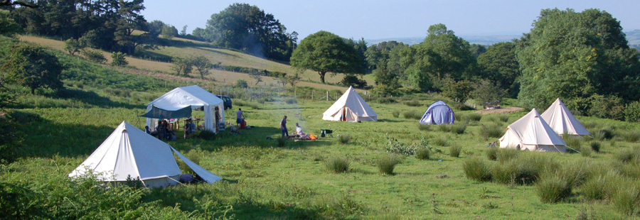 Creative camping Brecon Becons